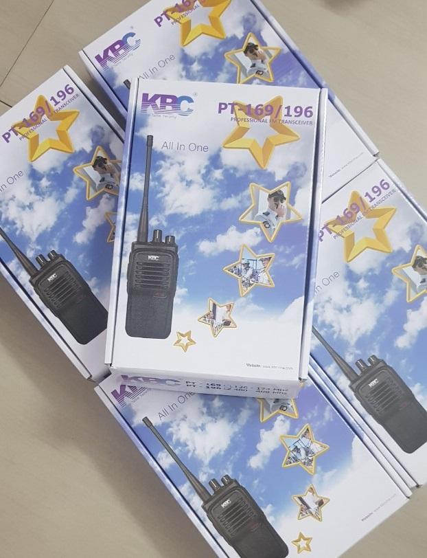 Bộ đàm KBC PT196 – Ánh Nguyệt Cường – Nhà phân phối Camera & Thiết ...