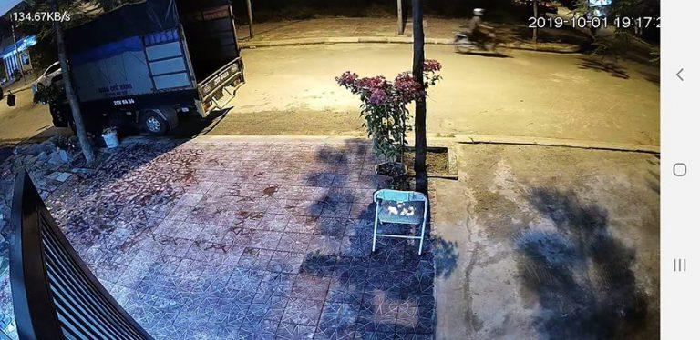 Hình ảnh lắp đặt camera Wifi IPC-C22EP-IMOU cho gia đình (Hình tư liệu)