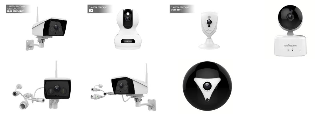 Các sản phẩm Camera Ebitcam
