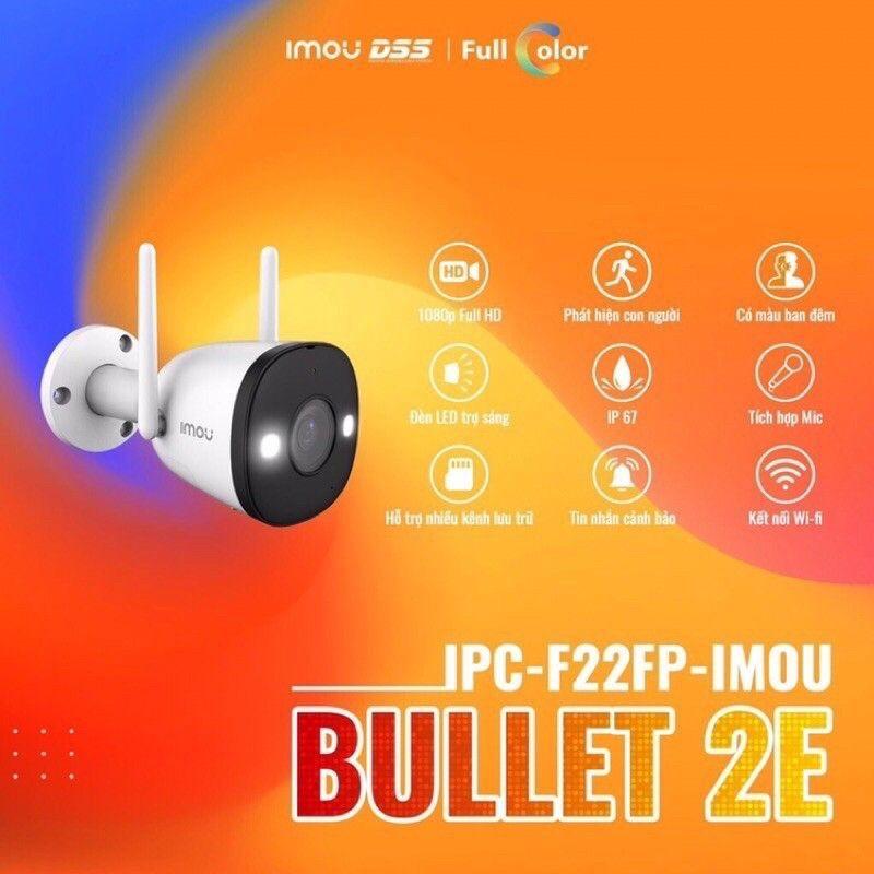 Camera imou Bullet 2E