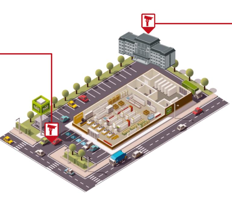 Mô hình quản lý bãi xe cho daonh nghiệp với camera nhận dạng biển số